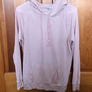 American eagle light pink, thin hoodie